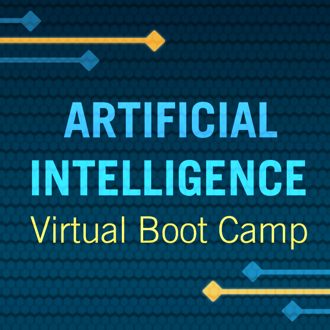 2020 Virtual Boot Camp: AI