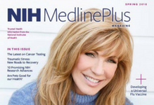 cover of medline plus magazine
