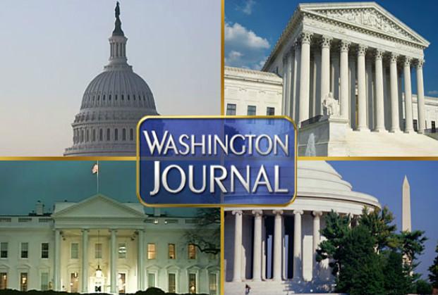 CSPAN Washington Journal logo
