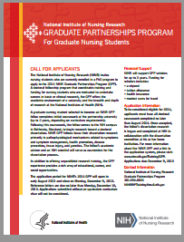Graduate Partnerships Program Flyer