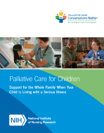 Pediatric Palliative Care Brochure cover
