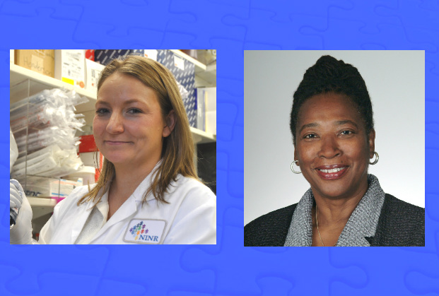 Dr. Jessica Gill (left) and Dr. Ida Spruill have received PECASE awards