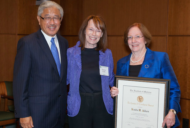 Dr. Victor Dzau, Dr. Patricia Grady, Dr. Linda Aiken