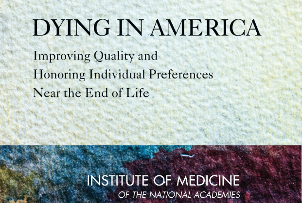 Dying in America IOM report cover