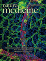 Nature Medicine journal cover.