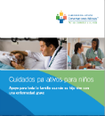 Spanish Pediatric Palliative Care brochure cover